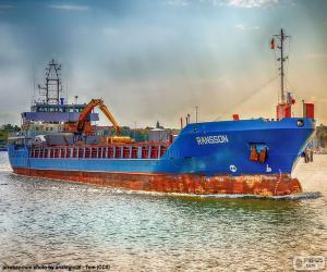 Puzle Navio de carga