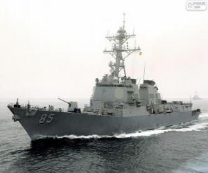 Puzle Navio de guerra, destruidor