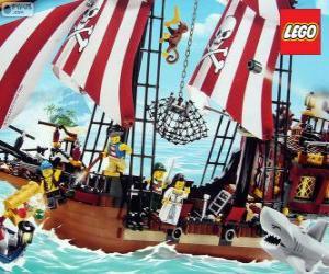 Puzle Navio pirata de Lego