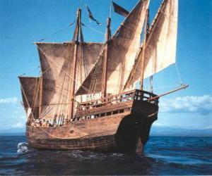 Puzle Navio pirata grande