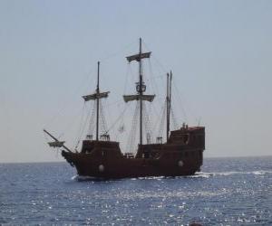Puzle Navio pirata