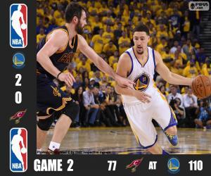 Puzle NBA Finals 2016, 2º jogo