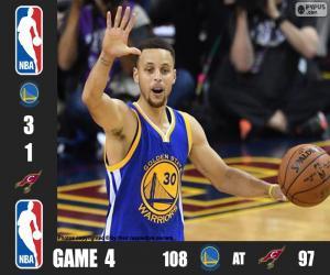 Puzle NBA finals 2016, jogo 4