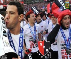 Puzle Newell's Old Boys, campeão do Torneio Final 2013, Argentina