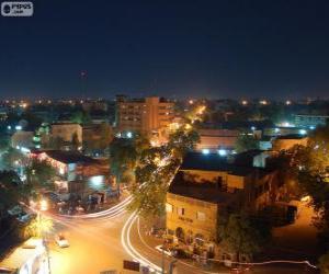 Puzle Niamey, Niger