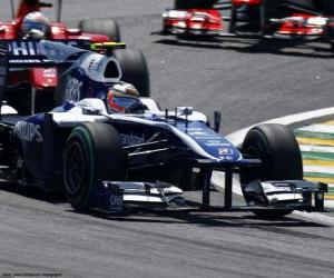 Puzle Nico Hulkenberg - Williams - Interlagos 2010