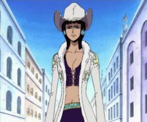 Puzle Nico Robin, arqueóloga da tripulação dos Pirates do Chapéu de Palha