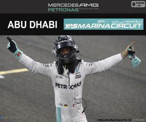 Puzle Nico Rosberg, campeão F1 2016