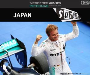 Puzle Nico Rosberg, GP do Japão 2016