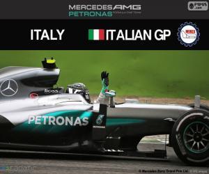 Puzle Nico Rosberg, G.P Itália 2016