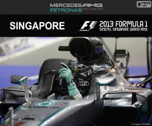 Puzle Nico Rosberg, GP Singapura 2016