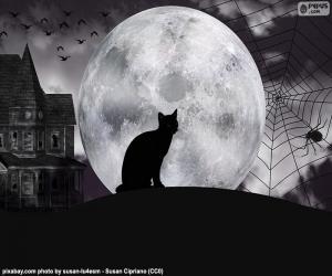 Puzle Noite de Halloween