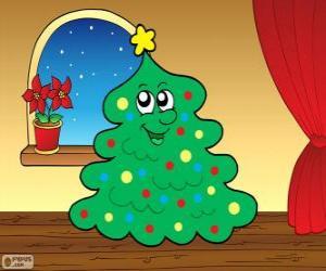 Puzle O abeto de Natal