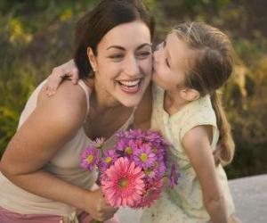 Puzle O amor de uma filha para sua mãe