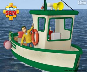 Puzle O Barco de pesca de Charlie Jones