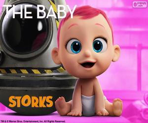 Puzle O bebê, Cegonhas