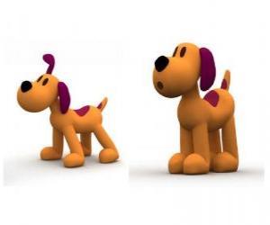 Puzle O cachorro Loula é o mascote do Pocoyo