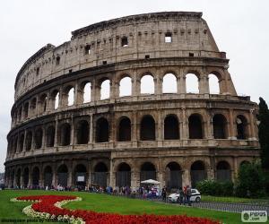 Puzle O Coliseu, Roma