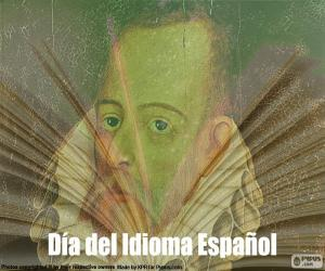 Puzle O dia da língua espanhola