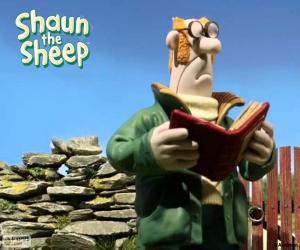 Puzle O fazendeiro de Shaun