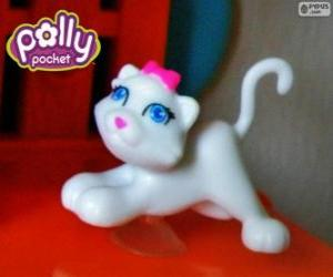 Puzle O gato de Polly Pocket
