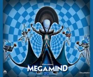 Puzle O grande Megamente ou Megamind