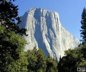 Puzle O Half Dome, Yosemite, EUA