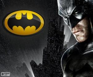 Puzle O homem-morcego, o super-herói Batman