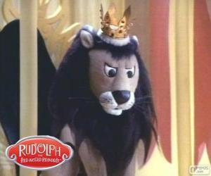 Puzle O leão voador, Rei Moonracer