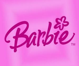 Puzle O logotipo da Barbie