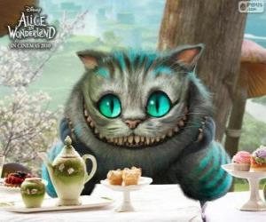 Puzle O Mestre Gato ou o Gato de Cheshire