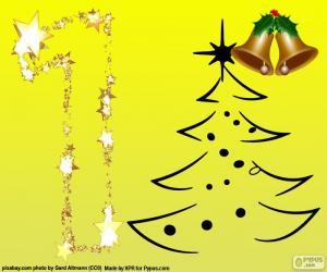 Puzle O número 1, Natal