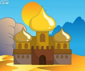 Puzle O Palácio de Aladim e a princesa
