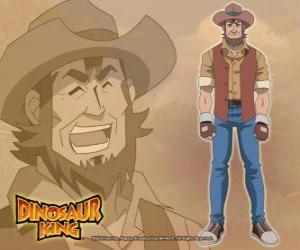 Puzle O paleontólogo Dr.Spike Taylor, Dr. Kenryu Kodai. O pai de Max é obcecado por dinossauros
