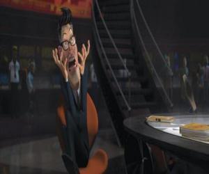 Puzle O presidente Hathaway