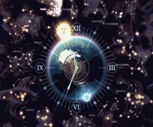Puzle O relógio do zodíaco