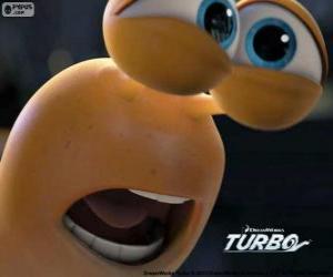 Puzle O rosto de Turbo