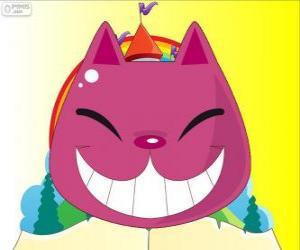 Puzle O sorriso do gato de Cheshire