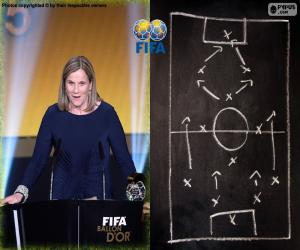 Puzle O treinador feminino 15 FIFA