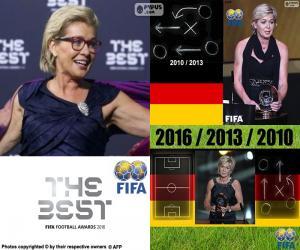Puzle O treinador feminino FIFA 2016