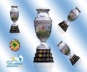 Puzle O troféu da Copa América 2011