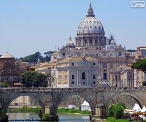 Puzle O Vaticano, Roma, Itália