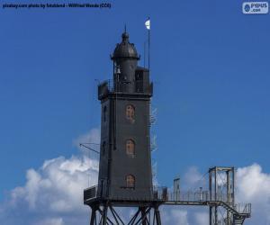 Puzle Obereversand Lighthouse