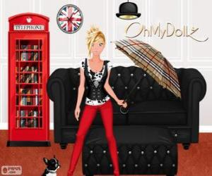 Puzle Oh minha Dollz Londres