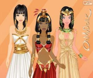 Puzle Oh My Dollz egípcia