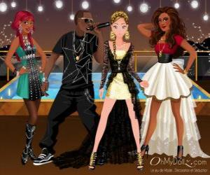 Puzle Oh My Dollz music group