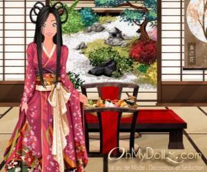 Puzle Oh My Dollz Oriental