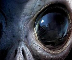 Puzle Olho alien