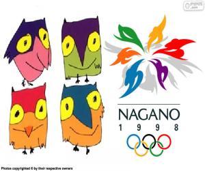 Puzle Olimpíadas de Inverno de Nagano 1998