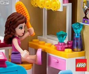 Puzle Olivia, Lego Friends
